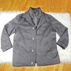 Hugo Boss Mens Peacoat Cashmere Wool (42R)
